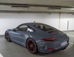 porsche gt3 grey leaked photo missed the 911r porsche 911 gt3 touring package