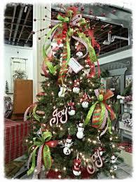 tree decorating service custom tree bow set