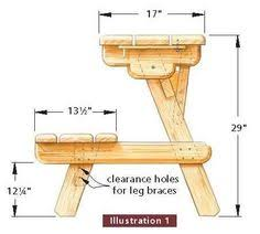 Diy Foldable Picnic Table by Teds Woodworking 16 000 Woodworking Plans U0026 Projects With