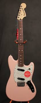 fender mustang guitar center fender mustang shell pink electric guitar reverb