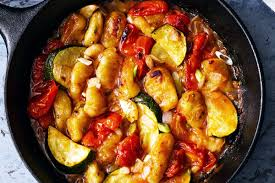 Mediterranean Style Roasted Vegetables One Skillet Mediterranean Gnocchi Recipe U2014 Eatwell101