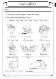 4th grade health worksheets all the best grade in 2017