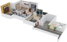 771 sq ft 2 bhk 2t apartment for sale in shivtara tara alicia loni