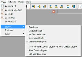 layout view zoom 4 9 view menu