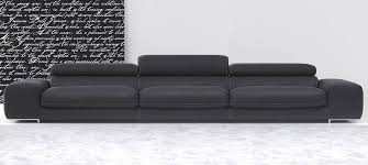 Italian Leather Sofa Arena By Calia Maddalena - 4 seat leather sofa