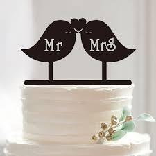 bird cake topper sweet bird cake topper mr mrs wedding cake topper acrylic
