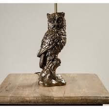 Owl Table Lamp Eclectic Table Lamps Table Lamps Lamps Lighting Cotterell