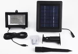 Security Light Solar Powered - best led flood lights recommended for safety