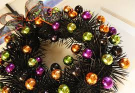 How To Make Halloween Wreaths by The Magic Of Ordinary Things Halloween Wreath Take Two