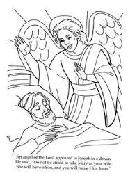 angel joseph coloring kidtown 3 4 activities games