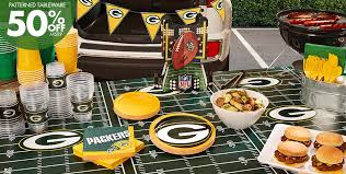 Nfl Decorations Nfl Green Bay Packers Party Supplies Decorations U0026 Party Favors