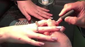 how to polish acrylic nails by male nail technician mn youtube