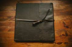 leather bound wedding album leather bound albums simple rustic legend album