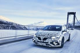 All Renault Models 2018 Renault Megane Rs Engine Bay Spied Appears To Be The 1 8 Tce