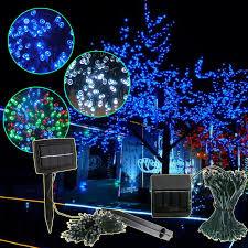 Solar Power Led Outdoor Lights Season Diy Solar Flower Lights Loldev