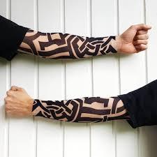 elastic tattoo arm sleeve 1 x arm u2013 bikesmiles