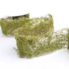moss ribbon artificial moss ribbon ribbon and trims craft supplies