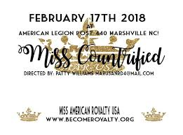 How To Create A Countrified Mar Usa Miss Countrified At American Legion Post 440 Marshville Nc