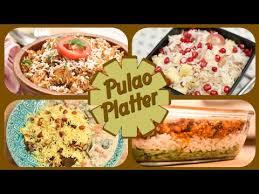 Main Dish Rice Recipes - pulao platter easy to make rice recipes indian main course