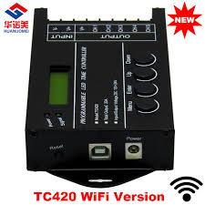 led aquarium light with timer new tc420 wifi time programable rgb led controller dimmer tc420