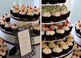 Fall Cake Decorations Lindsey U0026 Paul U0027s Fall Cupcake Wedding The Couture Cakery