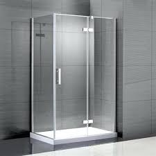 Shower Door Canada Ove Lea 48 In W X 76 In H Frameless Pivot Shower Door Lowes Canada