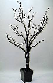 decorative tree branches 4 foot black tree in decorative pot bendable branches buy now