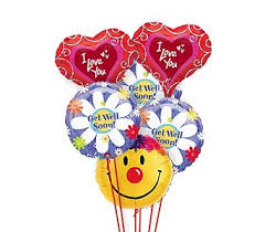 balloons get well soon get well balloons 1 800 balloons