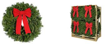 fresh wreaths brush greenery
