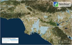 Earthquake Map Los Angeles by Should California Abandon The National Flood Insurance Program