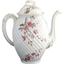 mz austria bridal antique porcelain chocolate pot mz austria bridal roses gold