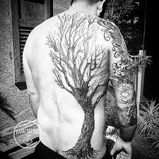 tree on guys back best design ideas