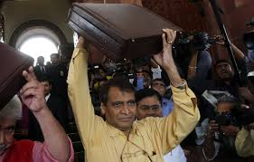 from clean toilets to designer bed linen what suresh prabhu
