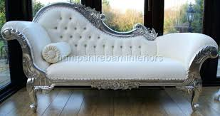 Chaise Lounge Pronunciation Chaise Silver Leaf Medium Chaise French Grey Longue Small