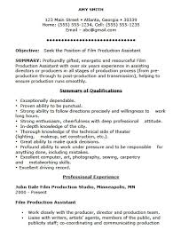 assistant resume template free production assistant resume template free resume templates