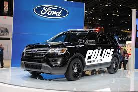 Ford Explorer Ecoboost - ford u0027s explorer police interceptor utility gets stealthy for 2016