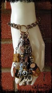 how to make halloween jewelry steampunk voodoo day of the dead talisman bracelet karen