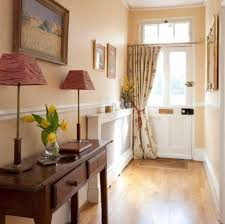 Narrow Wall Table by Narrow Foyer With Console Table And Tall Table Lamps Tips For