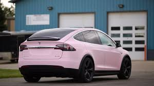 matte pink car light pink tesla model x mx5 matte black 22 forged 3 copy 1280