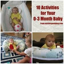 learning activities to do with your newborn 0 3 month baby
