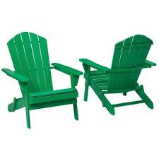 Green Patio Chairs Green Adirondack Chairs Patio Chairs The Home Depot