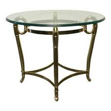 Oval Accent Table Vintage U0026 Used Charlotte Tables Chairish
