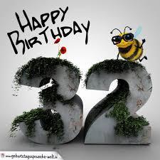happy birthday sprüche für männer happy birthday 3d 32 geburtstag geburtstagssprüche welt