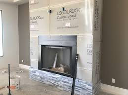 fireplace surround tile in custom scottsdale home bordeaux builders