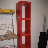 Tall Skinny Bookcase Red Tall Bookcase Thesecretconsul Com