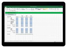 It Budget Template Excel 3 Year It Budget Template For Excel