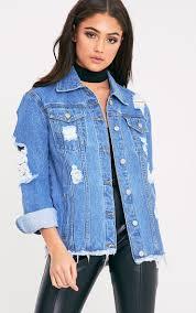 women u0027s denim jeans skirts u0026 jackets prettylittlething