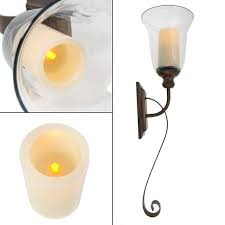 Flameless Candle Wall Sconce Cheap Flameless Candle Wall Sconce Find Flameless Candle Wall
