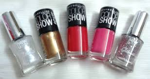 nail paints in bridal kit