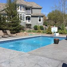 Swimming Pool In Backyard by Nassau Pools And Spas Elk River Mn